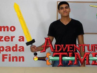Como Fazer a Espada Dourada do Finn de Hora da Aventura para o seu Cosplay - Dicas de Cosmaker