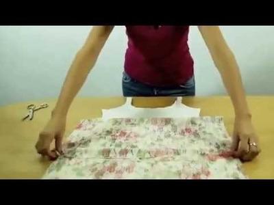 Como fazer o vestido de renda floral