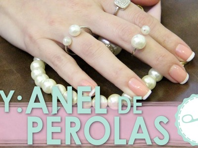 [DIY] Como fazer Anel de Pérola│estilo Chanel - wFashionista