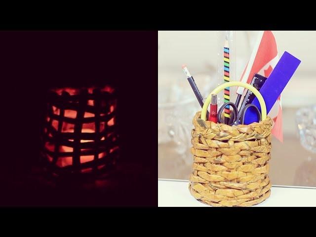 DIY: Vaso feito de Jornal
