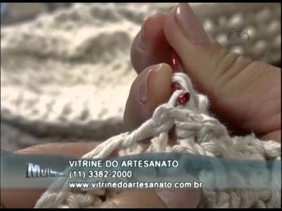 Mulher.com 15.01.2013 Carmem Freire - Cestinha de páscoa em crochê endurecido 1.2