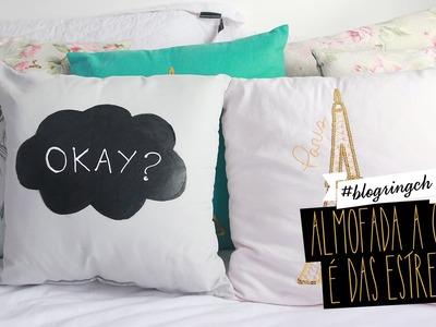 #blogringCH: Bruna Vieira customiza uma almofada inspirada em A Culpa é das Estrelas
