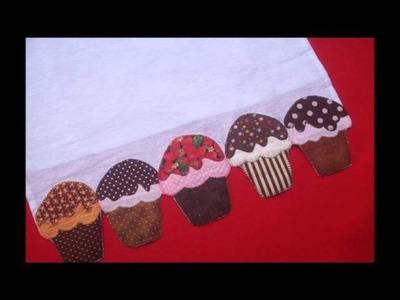 Sonhos e Retalhos - Coleção Cupcakes 2012