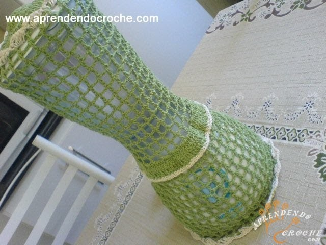 Capa para Liquidificador em Croche - 3º Parte - Aprendendo Crochê