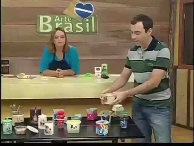ARTE BRASIL - CLAUDIA WADA E MARI ZECHINI (27.02.2012)