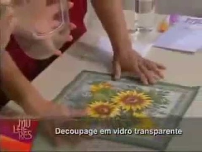 AULA DE DECOUPAGE COM MAMIKO