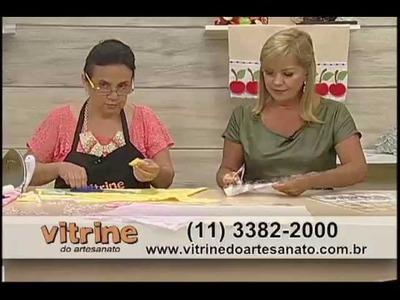 Barrado de Panos de Copa com Deize Costa - Vitrine do Artesanato na TV