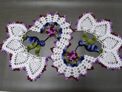 Centro de Mesa Beija-Flor: Parte 2 de 5 - Beija-flor