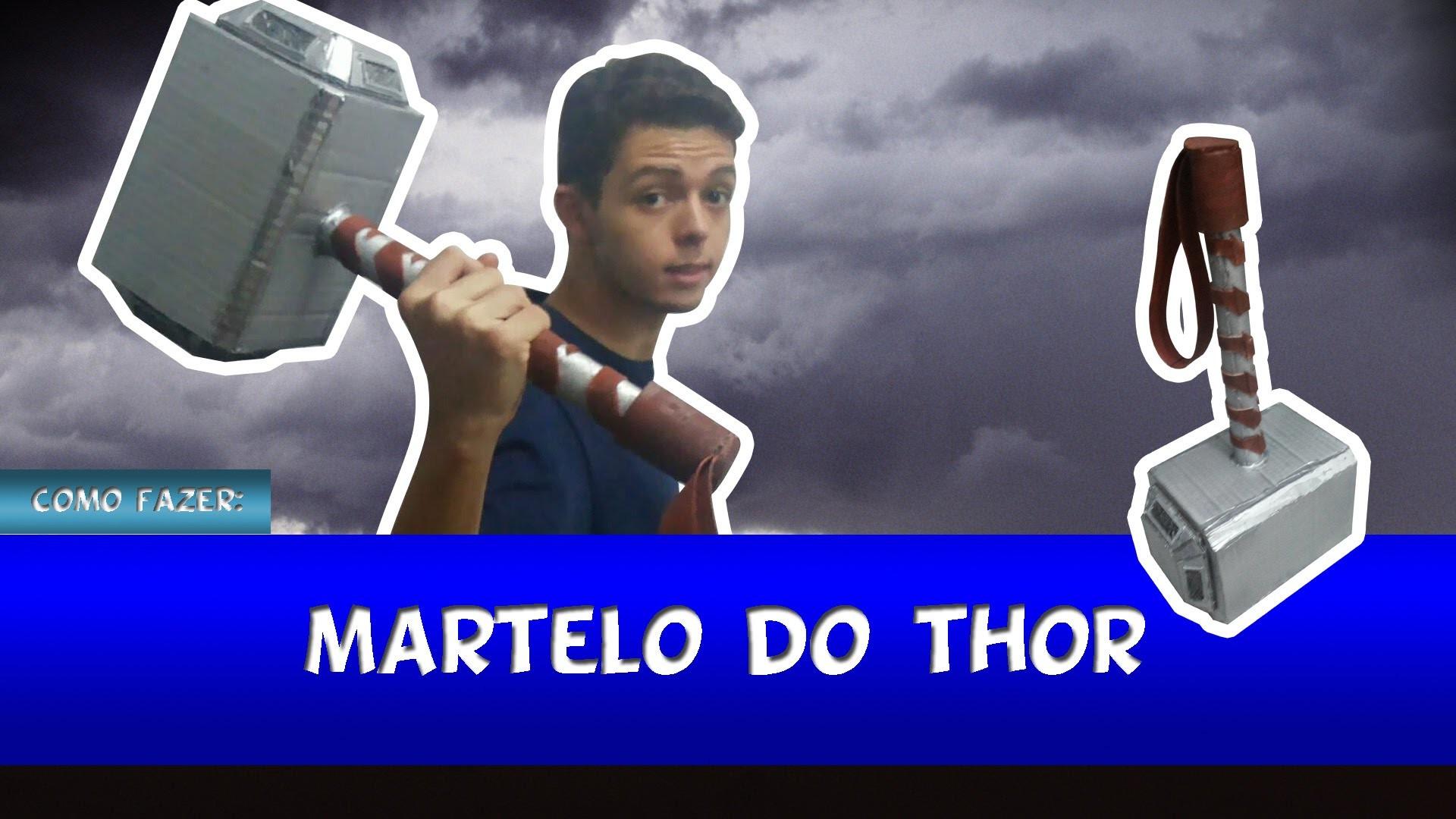 Como Fazer: Martelo do Thor [PT.BR]