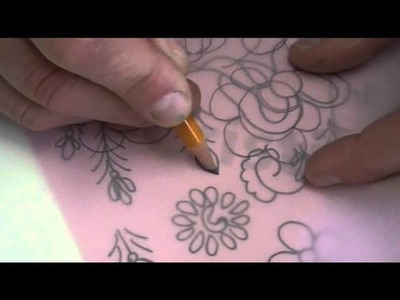 Como fazer um risco da pintura Bauernmalerei