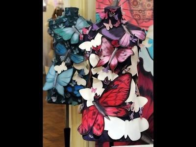 Como Pintar Mariposas- Técnicas Mixtas -  Oleos - Alba Artistica
