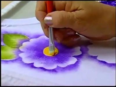 Espaço Condor: Pintura em Tecido: Estamparia de Flores