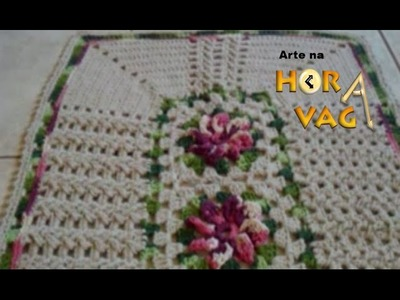 Flor de crochê - Catavento 2015 -  Artesanato. youtube