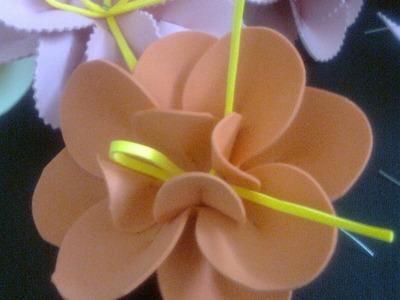Flor de EVA - Passo a Passo