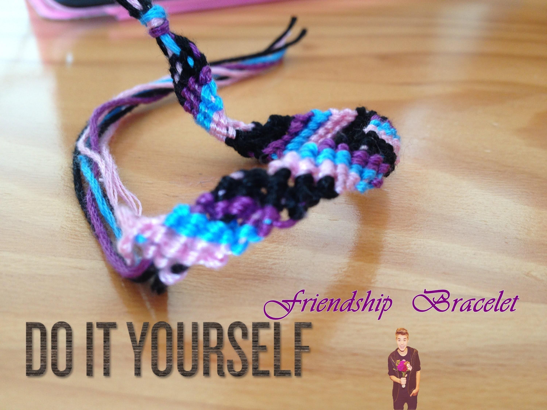 Friendship Bracelet - Tutorial - DIY