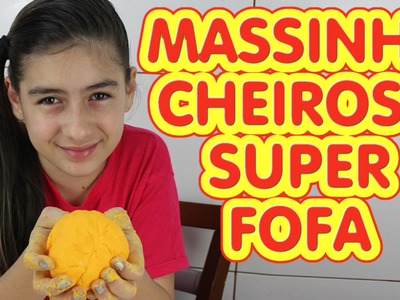Massinha Fofa Cheirosa (Modelar, Macia, Diferente, Super Massa, DIY) Play Dough Soft Smelling
