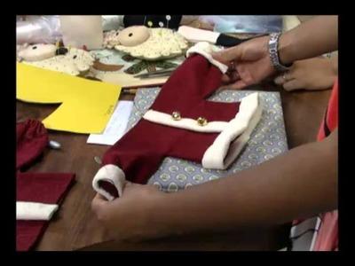 Mulher.com 13.12.2011 - Enfeites de Papai Noel