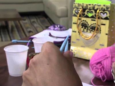Mulher.com 15.04.2013 Vitória Quintal - Crochê e tricô blusa vip  Parte 2
