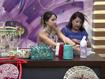 Mulher.com 18.09.2014 - Cabide porta bijuterias por Ofélia Fornari  (Parte 2.2)