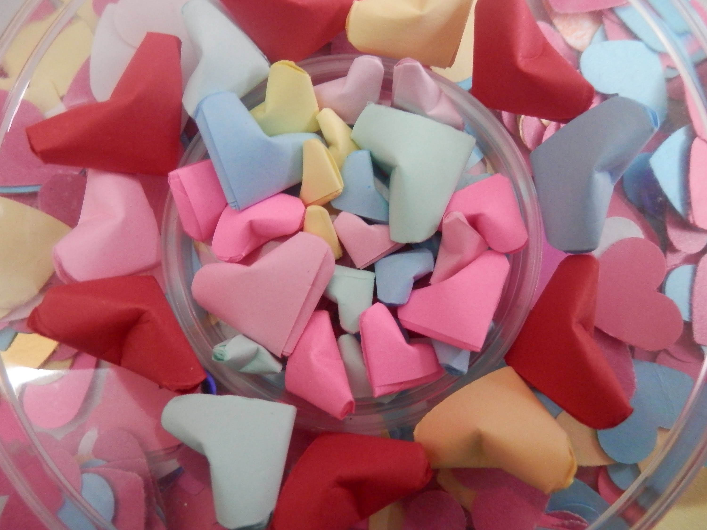 Origami  Mini coração