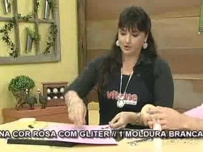 Programa Arte Brasil - Quadro Infantil de Scrapbook - Mara Fernandes - 29.09.2009