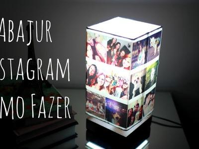 Abajur Instagram - Como fazer