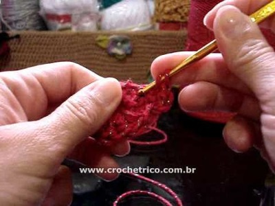 Crochê - Jogo Americano Natalino - 01.02