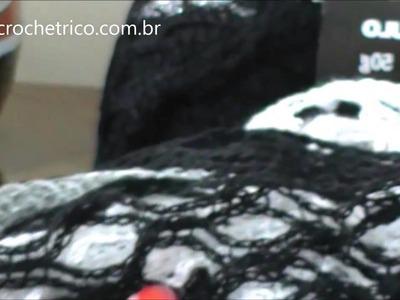 Crochê para Canhotas - Blusa Rede - Parte 05.07