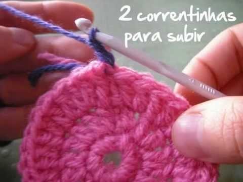 Crochê: como trocar a cor da linha | Superziper