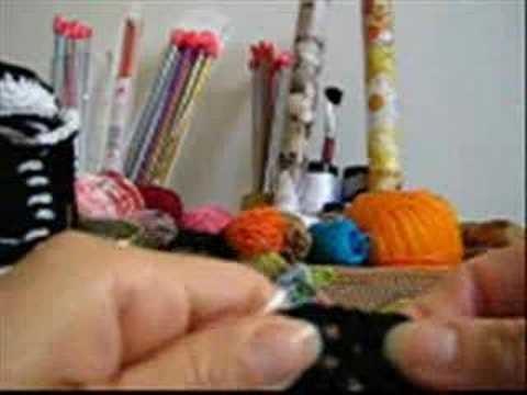 Crochê Tradicional - SapaTênis - Parte 03.09