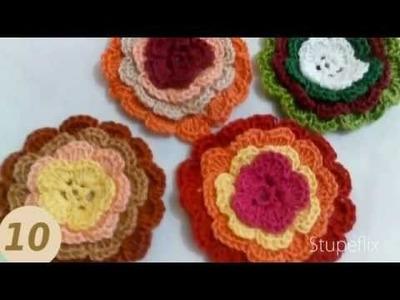 Florzinhas de Croche