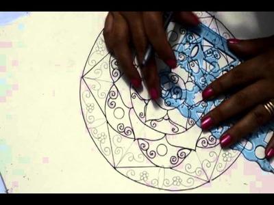 A Arte de Desenhar Mandalas
