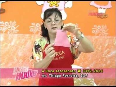 A Roca | Cegonha para porta de maternidade   Profª Carmen