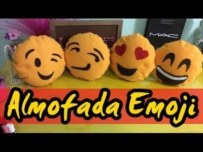 Almofada Emoji - Emoticon -Diy por Coisas de Jessika