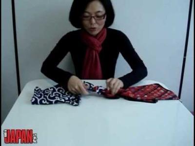 Aprenda a fazer uma embalagem de furoshiki