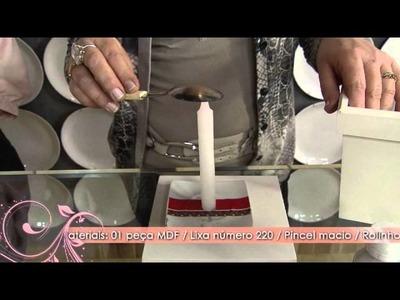 Aprenda a Técnica de marmorização em MDF!