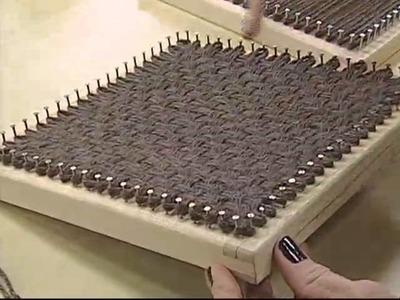 ARTE BRASIL - CONCEIÇÃO SALVA - TAPETE DUAS CORES EM BARBANTE (08.08.2011)