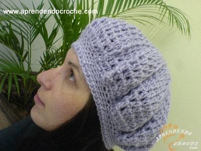 Boina Croche Dafne - 2º Parte - Aprendendo Crochê