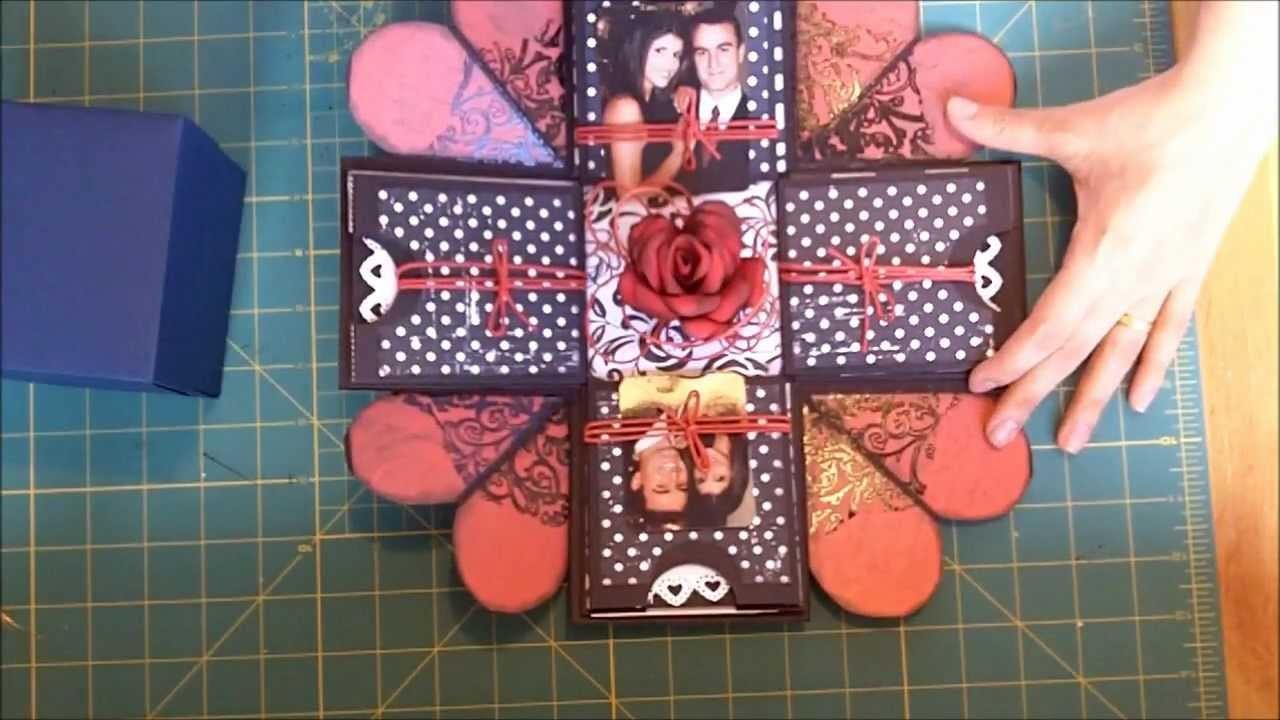 Caixa.cartao-surpresa - Exploding box scrapbook.wmv