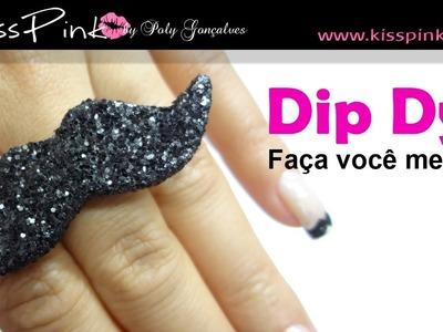 Como fazer anel de bigode por Poly Gonçalves (Mustache)