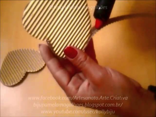 Como fazer caixa de presente com garrafa pet para o natal