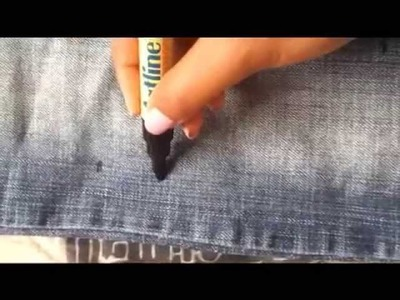 ✂ DIY.Costumização ● Ripped Jeans - Calça Jeans Rasgada ●