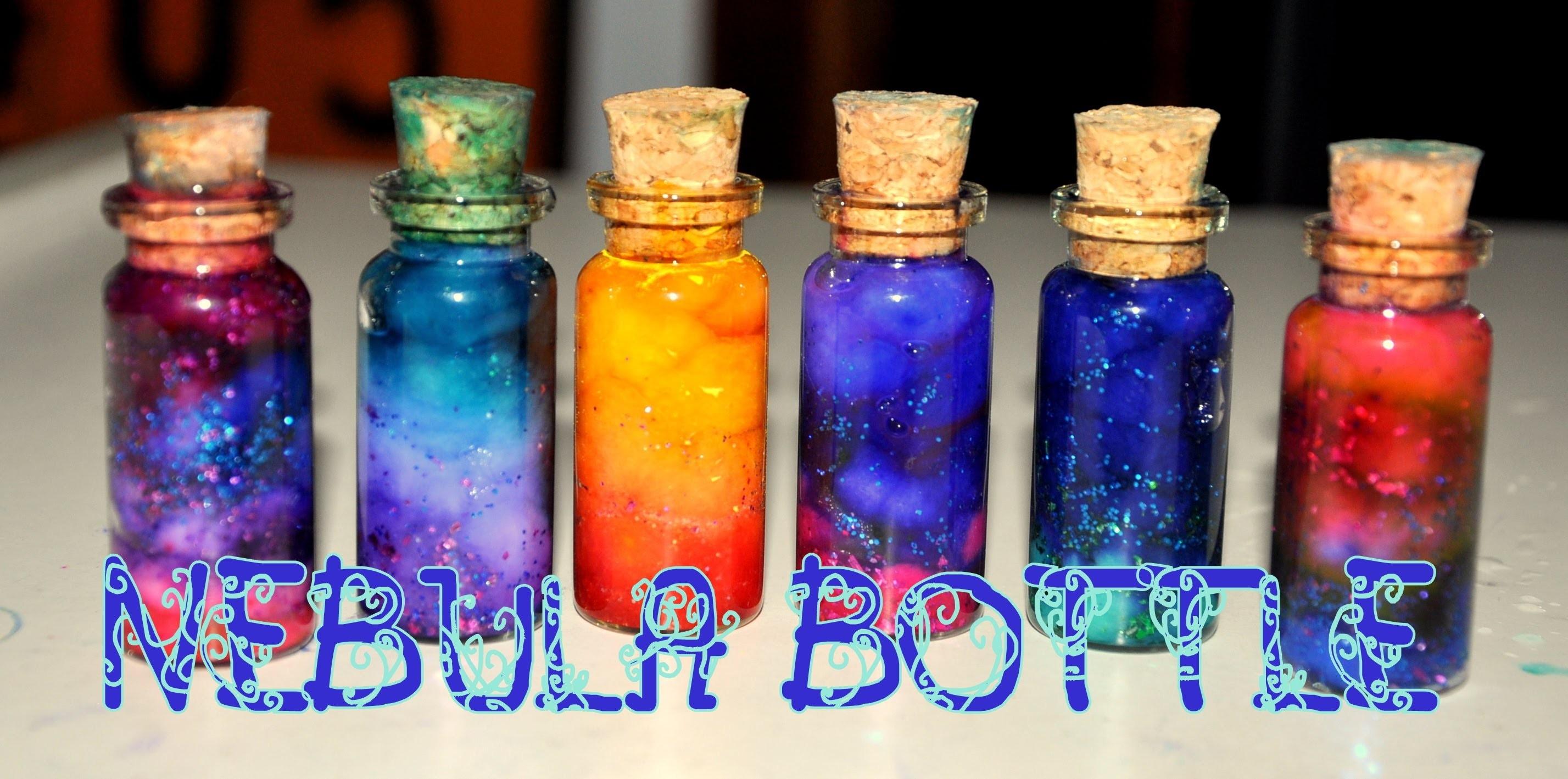 DIY: Galáxia engarrafada. Nebula Bottle ~ Faça você mesmo ~