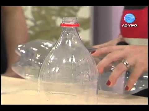 Manhã Viva - Artesanato: Transforme garrafas pet em brinquedos - 03.06.11 - Parte 4