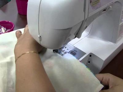 Mulher.com 09.10.2014 Lia Pavan - Mochila infatntil de tecido Parte 2.2