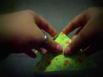 Origami borboleta (facil)