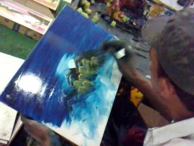 Pintura de quadro em 3 minutos