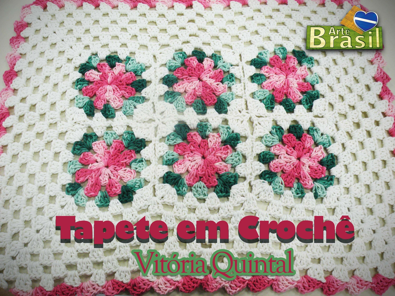 Programa Arte Brasil - 20.01.2015 - Vitória Quintal - Tapete em Crochê