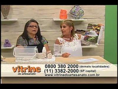 Fixa Crochê com Carmem Freire - Vitrine do Artesanato na TV