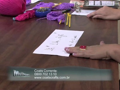 Mulher.com 25.02.2013 Vitória Quintal - Colete  parte 1
